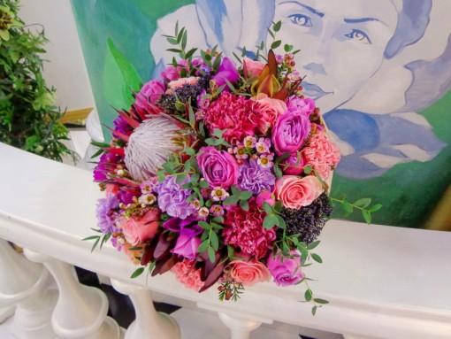 Букеты, цветочные композиции от профессиональных флористов