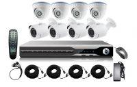 Комплект беспроводных камер видеонаблюдения и видеоресивера