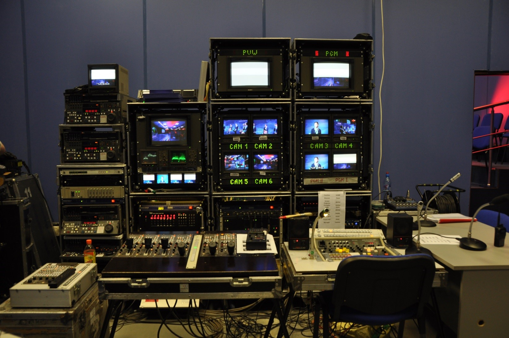 Television broadcast