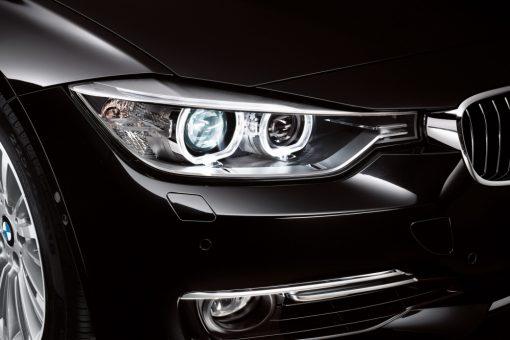 Ксеноновые фары на BMW